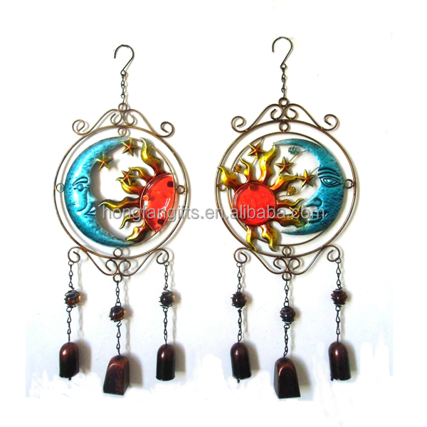 Wholesale Colorful Metal Wind Chime for Home Decor