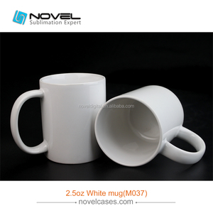 Popular White Coated Sublimation Magic Mug Photo Printable Cup