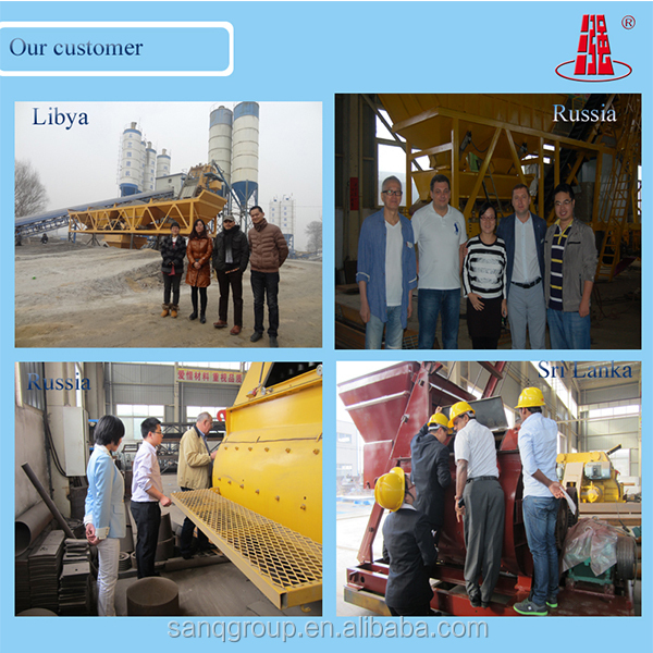 Business Plan Concrete Plant Pc Industrial Computer Control Cycle Cycle 60  S Hopper Concrete Mixing Plant For Sale - Buy Stabilized Mixing