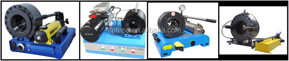 Topa quality Manual hydraulic hose crimper for Hydraulic hose and fitting