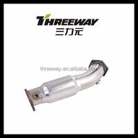 factory direct fit down pipe for AUDI B7