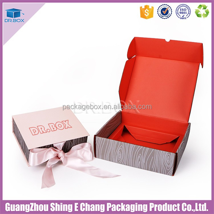 Corrugated Subscription Box forGift Package Box/ Organic Cosmetic Packaging