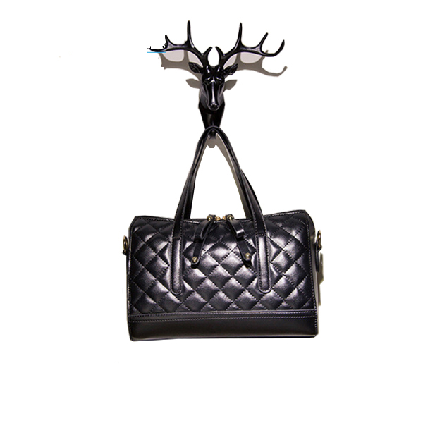 New design style wholesale Boston black color <strong>handbag</strong>