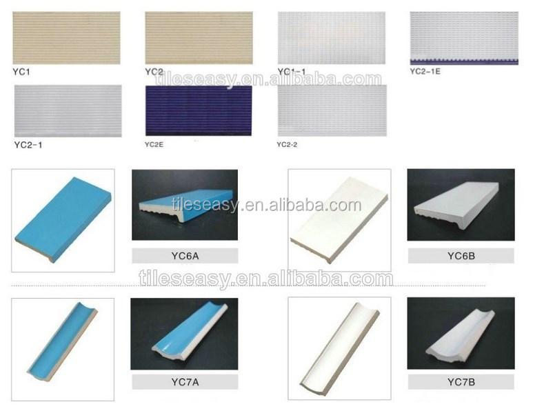 Blur Color Ceramic Step Tiles For Swimming Pool Buy