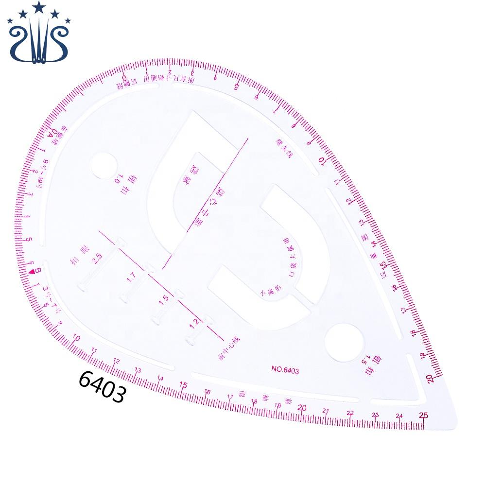CZ-23 plastic sleeve cage curve scale ruler set/B55/3220/3231/3250/6501/3245/6403/6301/C.T-50