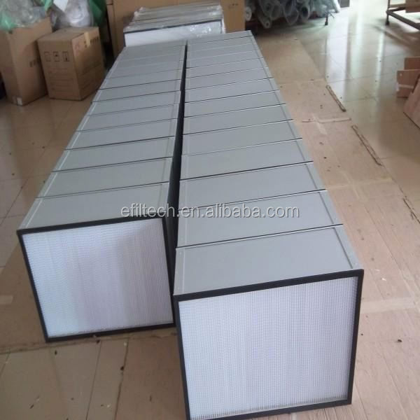 air filter hepa filter gas turbine conic air filter