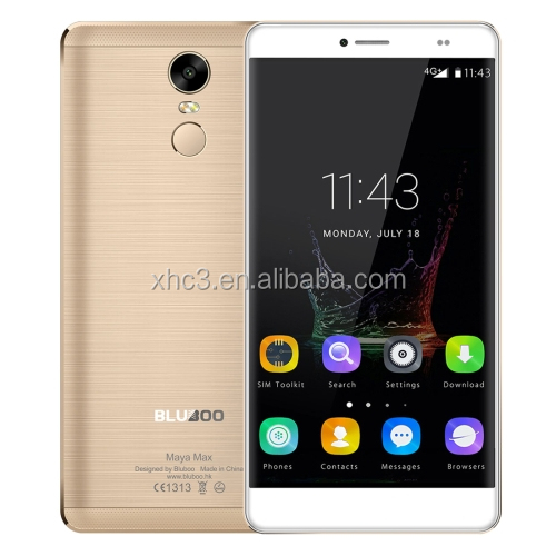 Dropshipping BLUBOO Maya Max <strong>4G</strong> mobile phone 6.0 inch Android 6.0 MTK6750 Octa Core smartphone