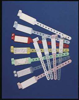 Medical identification wristbands, disposable