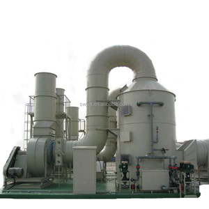 Sulfuric Acid Scrubber and Hydrochloric Acid Wet Scrubber