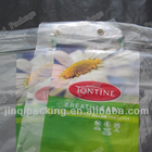 cheap Color printing/clear plastic bag with hang hole