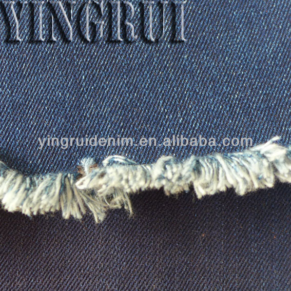 10.5oz 100 cotton ring slub blue black denim fabric whole for men or women