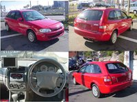 1999 Used car MAZDA FAMILIA WAGON S /Wagon/RHD/45300km/Gas/Petrol/Red