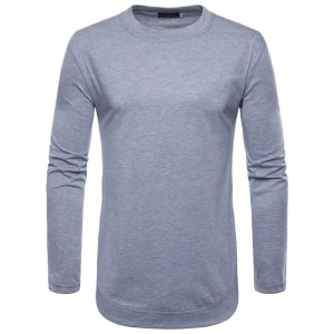 tshirts men long sleeve t shirt slim fit custom tee shirts sport wear