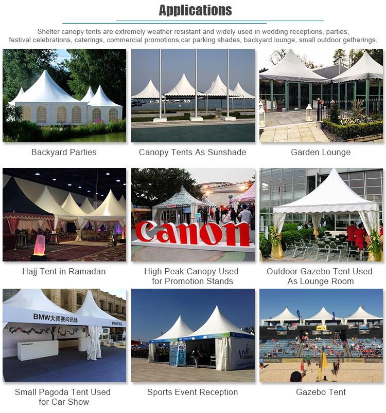 2017 3X34X45X56X68X810X10M Aluminum Canopy Pagoda Tent & 2017 3x34x45x56x68x810x10m Aluminum Canopy Pagoda Tent For ...