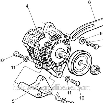 lister petter dws4 engine alternator 624 50540 624 21280 62450540 Engine Perkins Parts 404C-22T lister petter dws4 engine alternator 624 50540 624 21280 62450540 62421280