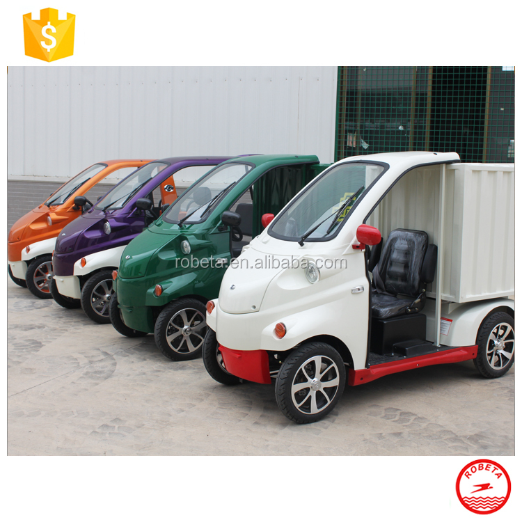 china suppliermini electric car cargo delivery goods transport car