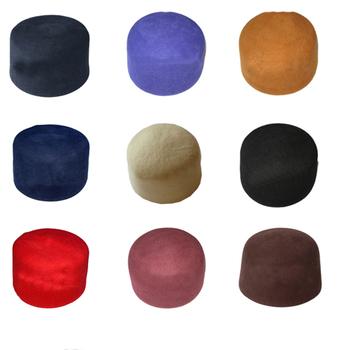 Sombrero de fieltro de lana en blanco al por mayor de la oración musulmana  sombrero 68198bb5487