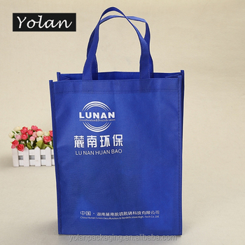 2016 Customized Low Price Laminated Non Woven Bag for Shopping