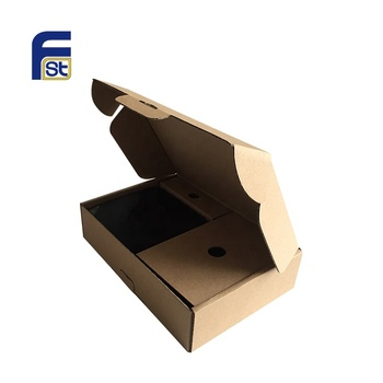 CMYK Color Printed E Flute Paper Corrugated Box Packaging For Mobile Phone