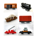 x020 6pcs out of print Thomas electric train track electric train cars suitable toys for children