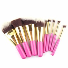 9pcs/Set Makeup Brushes Set Pink Wood Handle Soft Nylon Brush For Women alibaba best sellers Cosmetic Make Up Brush
