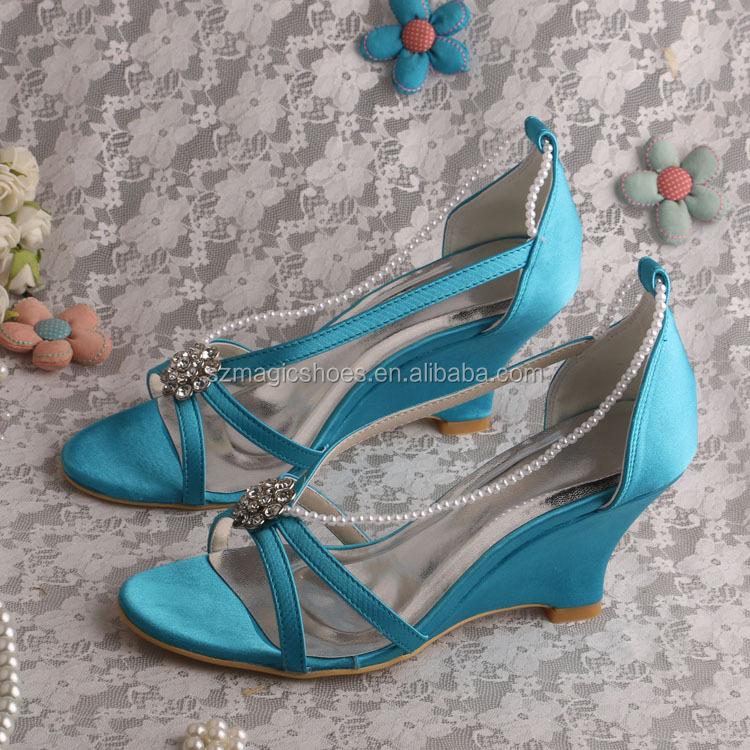 Por Sandalias Color Mayor Online Al Azul Compre Los Venta Novia Jcl3TFK1