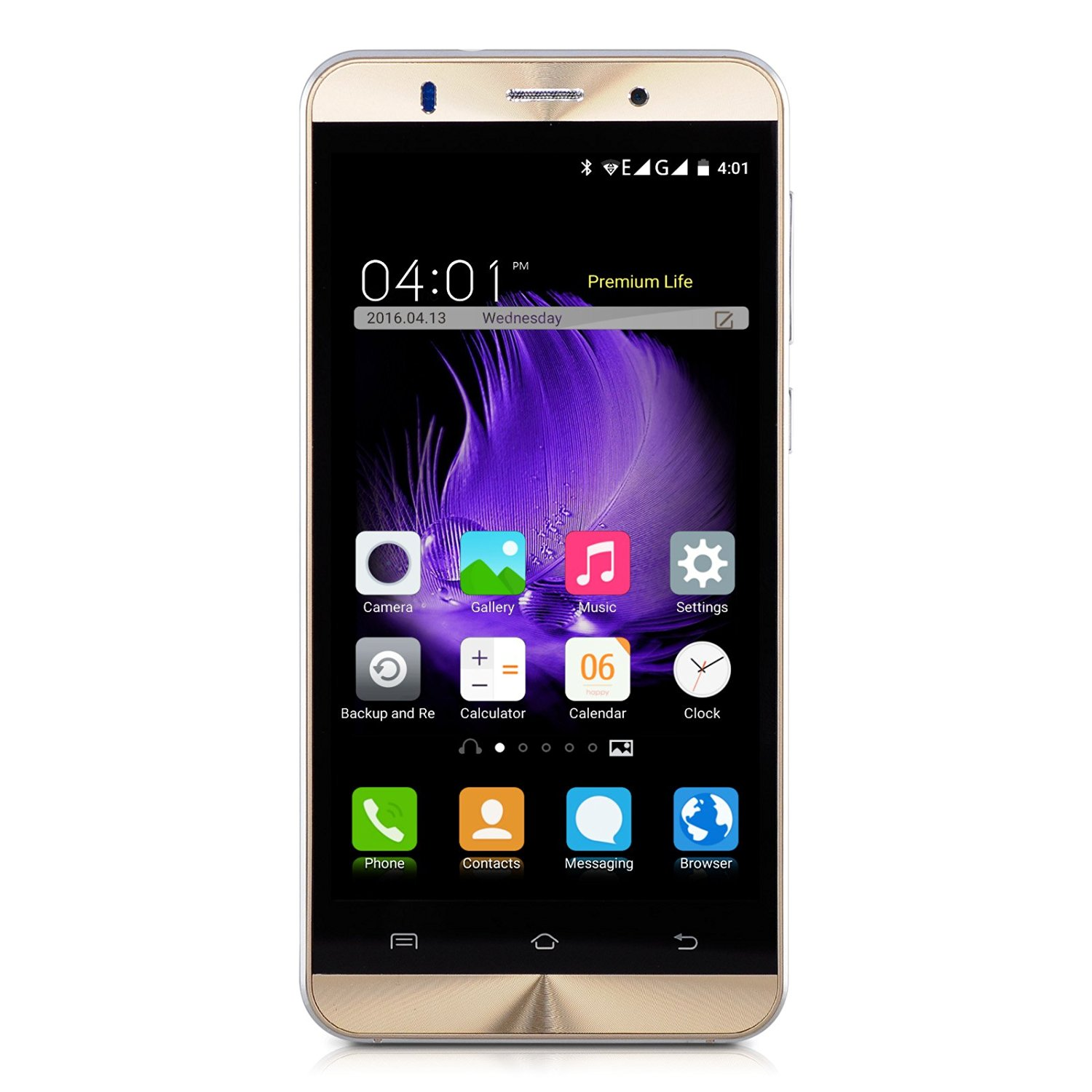 Xgody X15 5 Inch 3G Unlocked Cell Phone 8GB/1GB Quad Core Android 5.1 qHD Screen Dual SIM with Wi-Fi for T-Mobile AT&T Telefonos Desbloqueados(Gold)