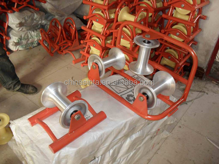 Hot Sale Straight Line Cable Pulley Wheel Steel Cable Roller - Buy ...