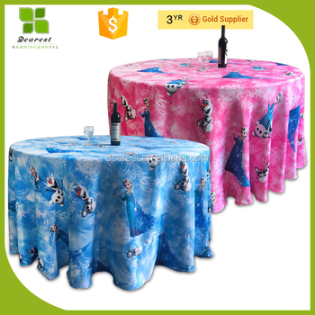 Remarkable Cute Children Cartoon Pattern Frozen Baby Birthday Party Chair Covers And Table Clothes Buy Children Table Cloth Children Table Cloth Children Table Caraccident5 Cool Chair Designs And Ideas Caraccident5Info