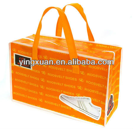 Promotional PP Non Woven Home Furnishing Zipper Bag,PP non woven zipper bags