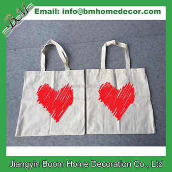 Wholesale Promotional Cheap Custom Logo Printed Natural Cotton Canvas Cloth  Carry Tote Bag 356131aa4a