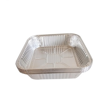 China Free Sample Tray Disposable Aluminum Foil Food