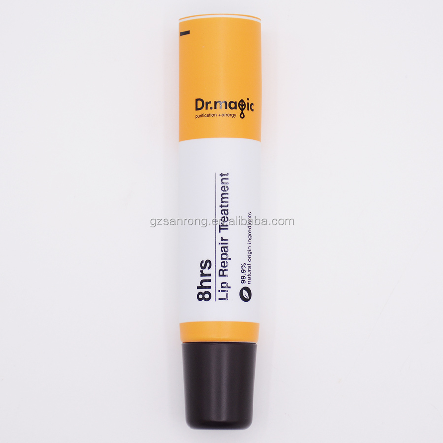custom 10ml 25% PCR material semi matte finished lipstick packaging container empty lipstick tube