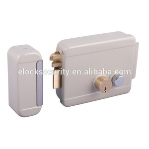 Home double cylinders electric bolt lock with knob