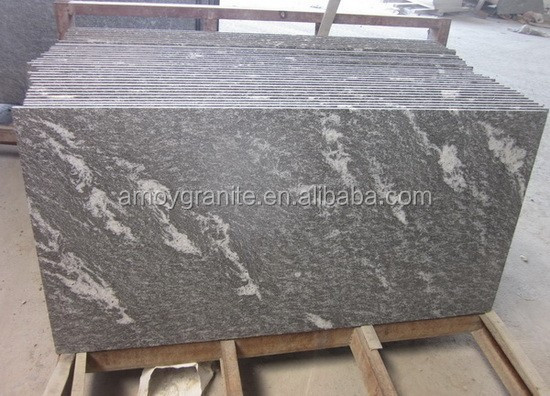 Flamed Jet Mist Granite (Direct Factory + Good Price )