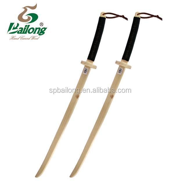 15 anni di fabbrica bambini giocattolo di legno katana spada