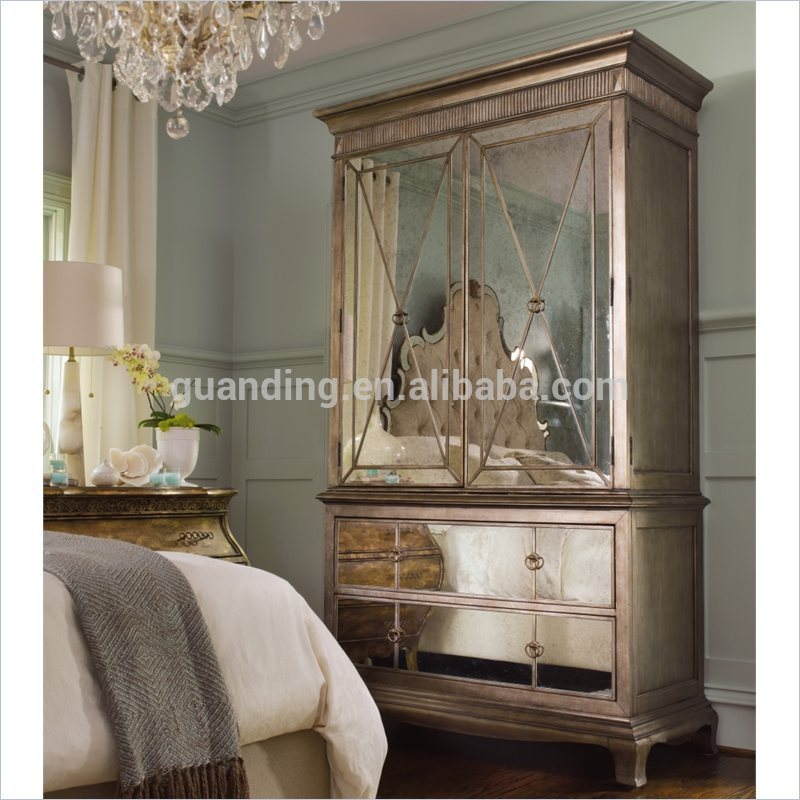 Mirrored Furniture Bedroom: 2015 Modern Lucury/ French Bedroom Furniture Mirrored