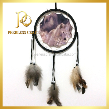 Indian Style Wolf Wholesale Dream Catchers View Wholesale Dream Custom Wholesale Dream Catchers