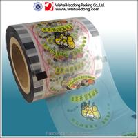 customized logo detergent packaging film