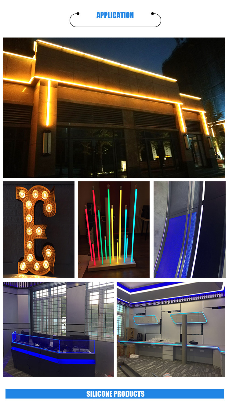 Wholesale Hollow extruded Led Neon Silicone Tube