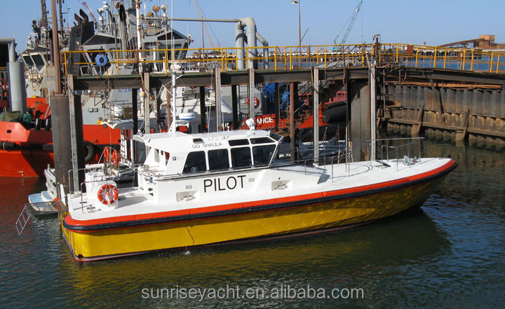 16m Fiberglass Pilot Boat Military Patrol Boat For Sale