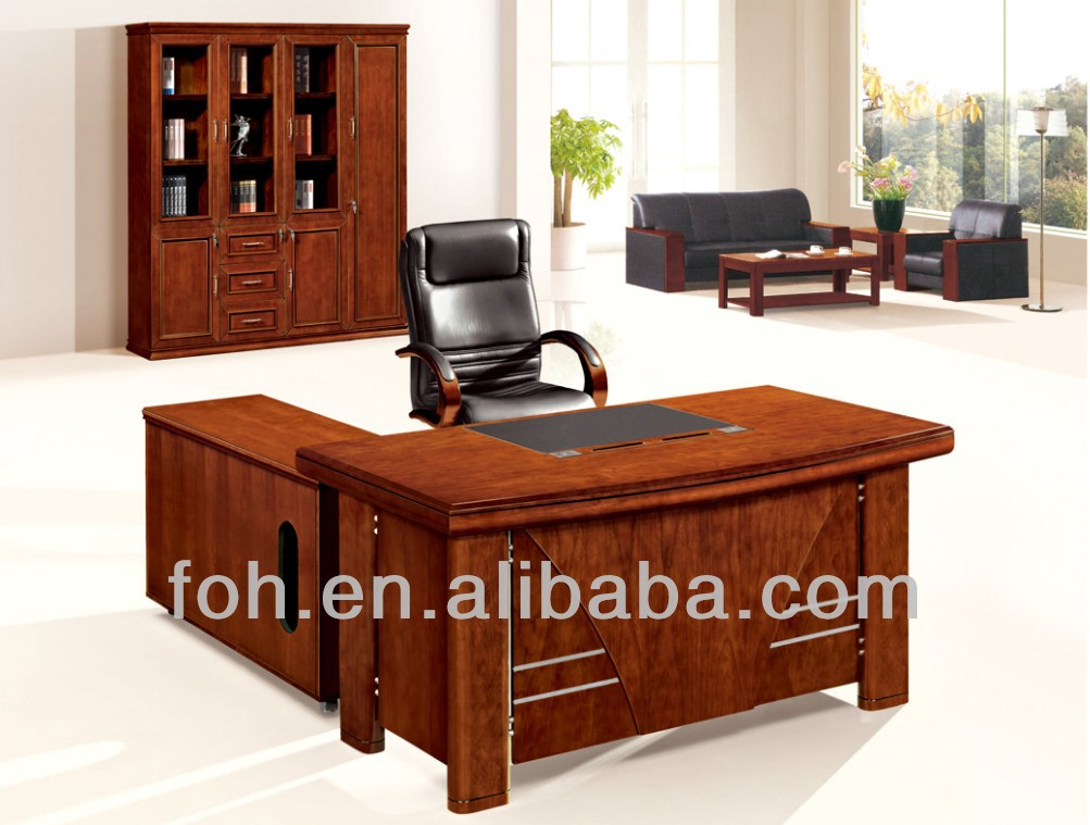 Manager Office Furniture Manager Desk + Manager Chair+ Sofa + File Cabinet (FOHS-A1852)