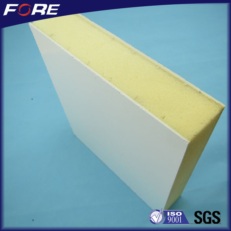 Manufacturer direct supply fiberglass FRP polyurethane foam sandwich panel