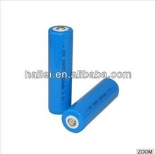 hot sale!3.7V 2000mAh Rechargeable aw ICR 18650 battery