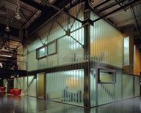 u profile glass for curtain wall/u glass channel glass