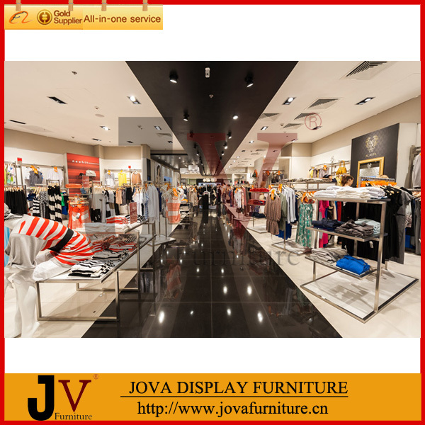 JOVA CUSTOMIZED DESIGN Clothing Display Furniture,clothing Store Display  Stands,display Rack For Clothes