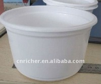 Disposable plastic food grand micro safe container