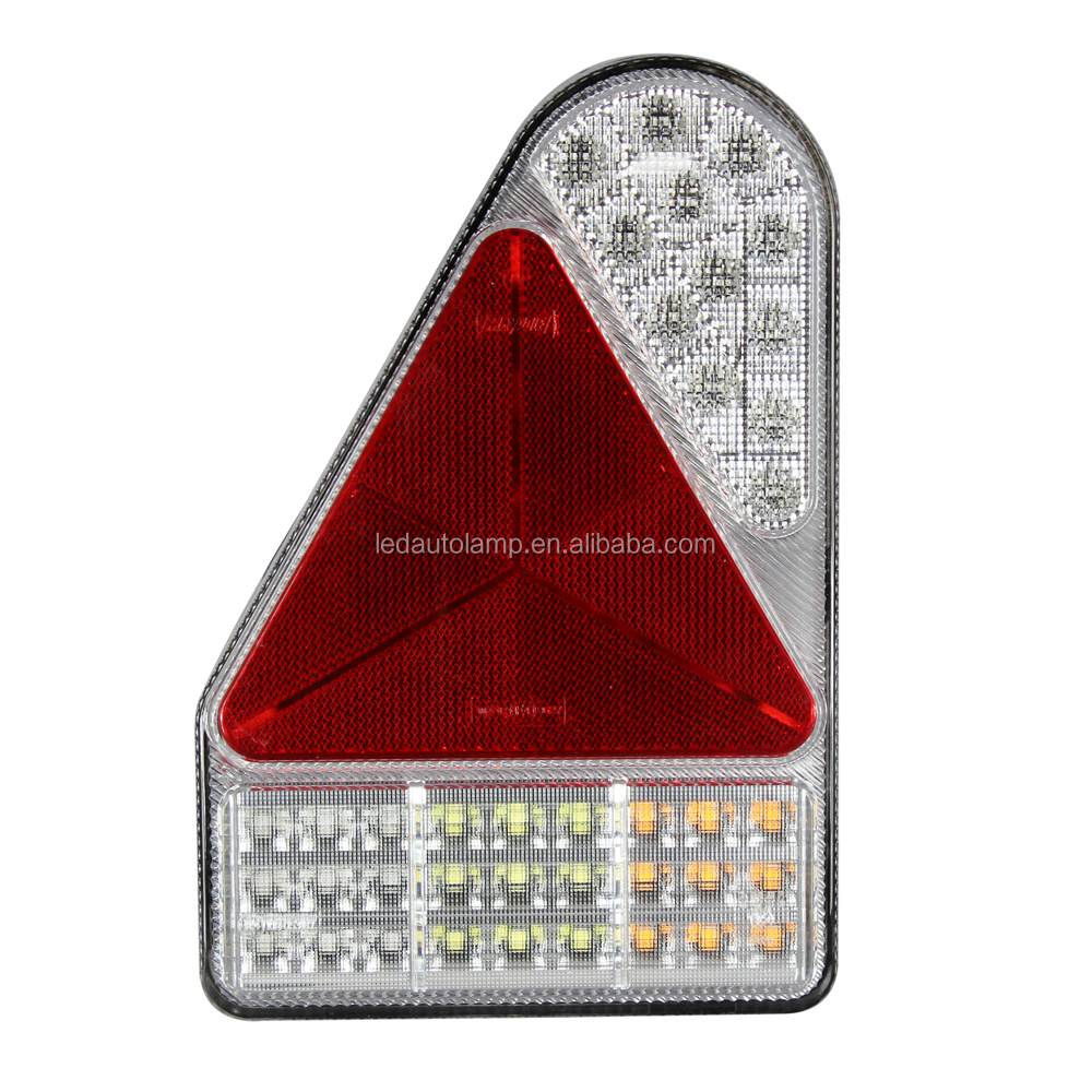 tail truck lights submersible light trailer multifunction amazon rv dp com stop brake id turn bar led red automotive waterproof
