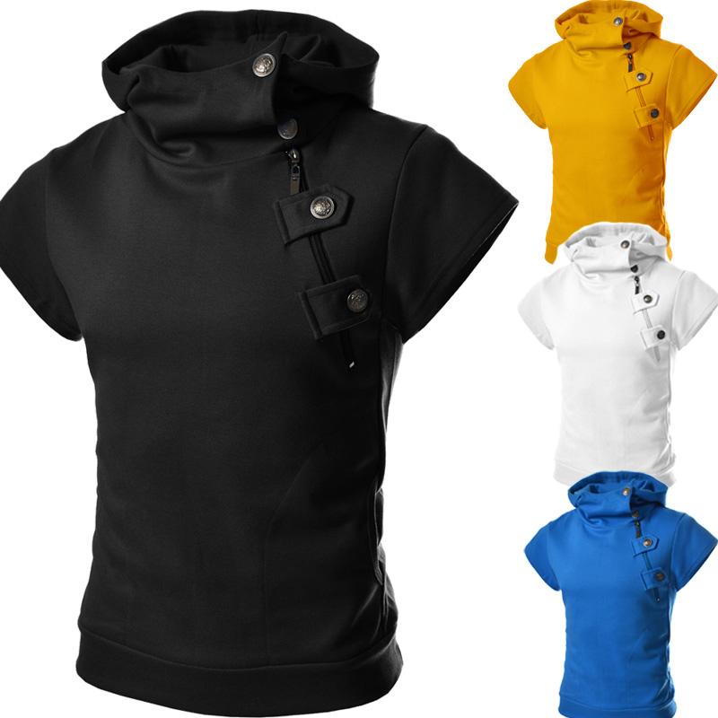 Hoodies Men 2017 Brand Male Long Sleeve Solid Color Hooded