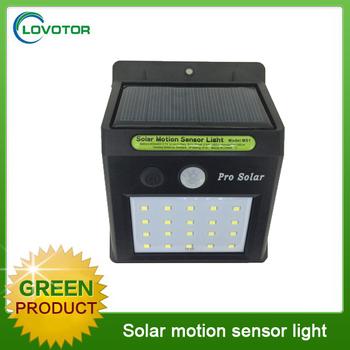 Wholesale 20 led motion sensor garden light solar led outdoor wall ...